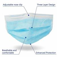 Cheap Anti Virus 3 Ply Medical Face Mask Advanced Foldable Structure Techniques for sale
