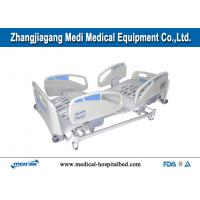 Cheap Lateral Tilting Multifunction Electric Hospital Bed With Tactile Membrane Control for sale