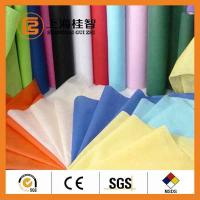 Cheap Colorful Waterproof Spun Bonded Raw Material For Non Woven Fabric , 10gsm-320gsm for sale