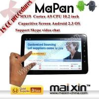 Cheap 10.2-inch Capacitive Screen SKYPE VIDEO phone tablet for sale
