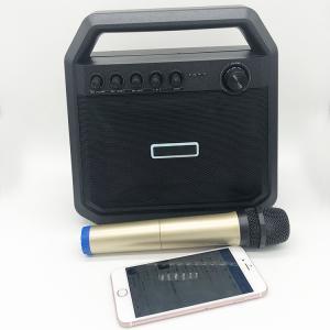 Cheap Outdoor Battery Powered Bluetooth Speaker Bluetooth Amplifier Karaoke TWS Speaker Box for sale