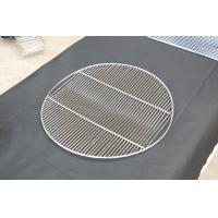 Cheap Round crooked BBQ stainless steel grill mesh wholesale