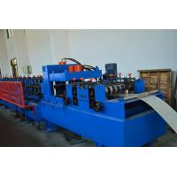 Cheap Section Roof CZ Purlin Roll Forming Machine , Ceiling Purlin C Channel Roll Forming Machine for sale