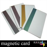 China Hotel PVC Magnetic Stripe Cards With Signature Panel For Retail Store on sale