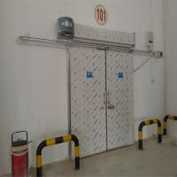 China Dual Stainless Steel Safety Residential Automatic Sliding Doors Operator For Cold Room on sale