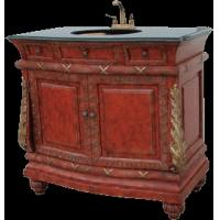 China Antique Bath Vanity with marble countertop (model number tsvc2041) on sale