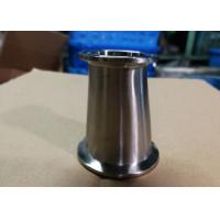 Buy cheap Hygienic Fittings Clamp Reducers For Food / Beer / Beverage / Dairy Usages Polished Surface from wholesalers
