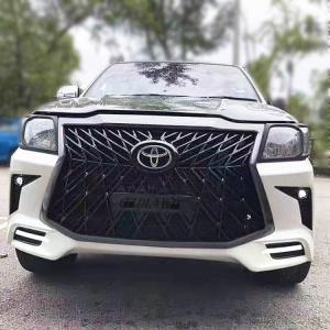 Cheap Black 4x4 Body Kits For Toyota Hilux Vigo Upgrade To Lexus Lx570 for sale