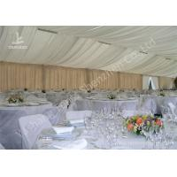 Cheap Exterior Luxury Decoration Portable Event Canopy Tent with Linings and Lights wholesale