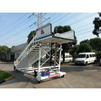 Cheap 2000 Kg Aircraft Passenger Stairs Commercial Chassis 2 x 2 Drive Type for sale