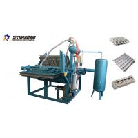 China Small Paper Pulp Moulding Machine Small Egg Tray Making Machine 1000pcs/H on sale