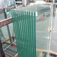 Cheap 8mm 10mm 12mm thickness plain building reflective tempered laminated safety glass panel with PVB or SGP film price m2 for sale
