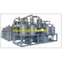 Cheap Advanced vacuum distillation technology,refining base oil ,engine oil recycling system for sale