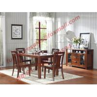 Cheap High Quality Solid Wooden Furniture Dining Table with Chair for sale