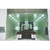 Cheap Electric Industrial Spray Painting Booths , Portable Powder Coat Spraybooth for sale