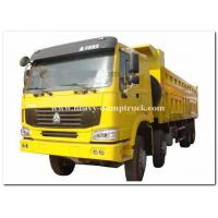 Cheap 8x4 powerful engine 50 tons heavy duty dump truck 266h-375ph with flat roof cabin for sale