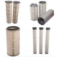 China Polyester Dust Filter Cartridge pleated filter cartridge air filter cartridge on sale