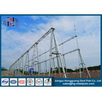 China 110KV Hot Dip Galvanized Substation Steel Structures for Power Substation / Switch Yard on sale