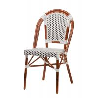 Cheap Comfortable Bamboo Aluminum Stacking Handcraft Bar Dining Chairs For Commercial for sale