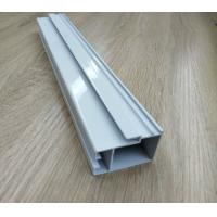 High Hardness Powder Coated Aluminium Extrusions For Doors / Windows Corrosion for sale