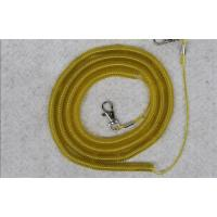 safety spiral lanyard cable coil rope boat fish tackle rod protector ...
