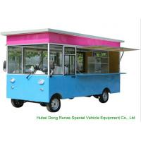 Cheap Small Commercial Mobile Kitchen Truck For Hot Dog Wagon Burrito Cooking And Selling for sale