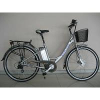 Cheap Zero Discharge Electric Powered Bicycles , Lithium Battery E-Bike for sale