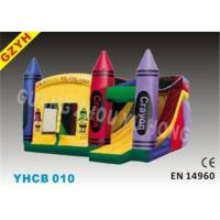 0.55mm PVC Tarpaulin Inflatable Combo Bouncers Slide YHCB-010 with Jumping House