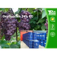 China Oxyfluorfen 24% EC Agriculture Selective Herbicide For Bermudagrass on sale