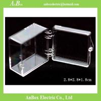 Cheap PC Transparent plastic boxes Clear packing boxes for Display Gifts Jewelry for sale
