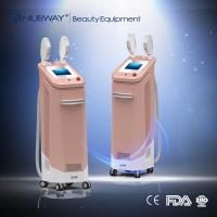 Cheap CE approved multifunctional 3 handles ipl elight shr permanent hair removal ipl wholesale