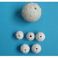 Cheap Slotted and Perforated Ceramic Ball-Covering Media (HQ-HK) for sale