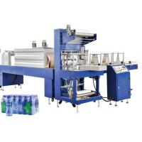 China Linear Type Automatic PE Film Shrink Packaging Equipment For Soft Drink Liquor CSD Can on sale