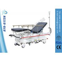 Cheap Hydraulic Rise - And - Fall Patient Transport Stretcher / Trolley For Paramedic for sale