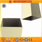 Cheap Rectangle Powder Coated Aluminium Extrusions / 6063 6063A Aluminum Window Frame Profile for sale