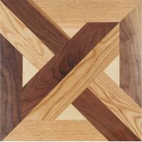 Cheap Walnut with maple Europan Wooden Parquet flooring for sale