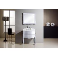 China 1200 * 52 * 85cm marble countertop bathroom vanities traditional style Ivory flush on sale