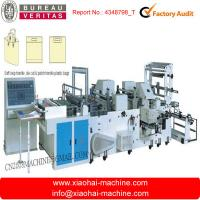 Cheap Multi - Function Plastic Carry Bag Making Machine PLC Controlled 8kw , Plastic Bag Maker for sale