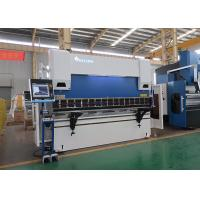 Cheap 100 Ton 3100mm CNC Hydraulic Press Brake with DELEM DA66T 3D Graphical for sale
