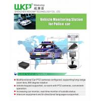 Cheap car Vehicle dvr System real time record PAL / NTSC Video Standards dual steaming for sale