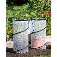 Cheap Pop-up grow bag Garden Plant Accessories polyethylene greenhouse fabric and mesh for tomato for sale