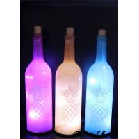 Cheap Decorative Wine Bottle Led Lights For Home / Party / Events WB-030 for sale