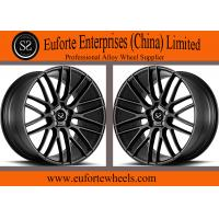 Buy cheap 22inch Gloss black machined face 1-PC forged wheels from wholesalers