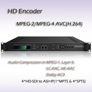 China REH2304_SDI MPEG-2/H.264 HD Encoder Digital IPTV system headend Four-Channel IPTV Encoder on sale