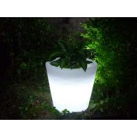 Buy cheap Promotional Plastic Planter,Eco-Friendly Led Plastic Plant Pot from wholesalers