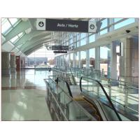 Airport Tempered Laminated Glass Walls And Stairs , Toughened Glass 10 mm
