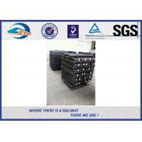 Cheap SGS Hot Rolled Steel 4 / 6 Hole Railway Fish Plate For Connecting Rails for sale