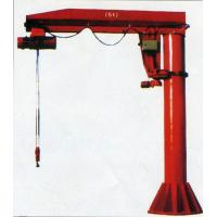 China Convenient Operation Cantilever Gantry Crane , Electric Column Fixed Jib on sale
