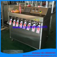 Cheap Shaped Bag Packing Machine / Vertical Liquid Fruit Jelly Filling Sealing Packaging Equipment for sale