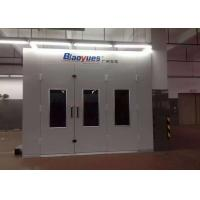Cheap Custom Inner Ramp Spray Painting Room , Auto Body Spray Booth Equipment for sale